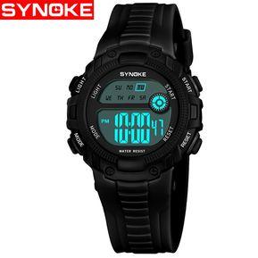 ea6d978999ba Reloj De NiñOs SYNOKE   Fashion A Prueba De Agua 9558-Negro