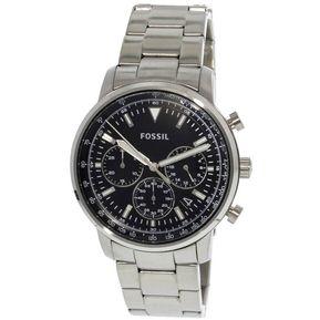13e665a8b8d6 Reloj Analógico marca Fossil Modelo  FS5412 color Plateado para Caballero