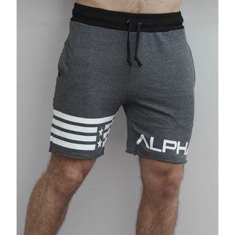 c8856555145af Compra Short Deportivo - Short Para Hombre - Shorts Gym - Alpha Fit ...