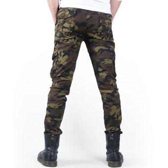 Modernos Pantalones Militares De Camuflaje Para Hombre De Estilo Informal De Delgados Para Primavera Y Verano Combate Militar Tactico Pantalon Ajustado Tipo Lapiz Xyx 955 Khaki Camo Thin Linio Mexico Ge598fa13zpjdlmx