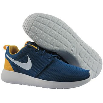 factory authentic 3faee b589f Agotado Zapatos Running Hombre Nike Roshe One Se-Azul Con Amarillo