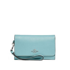 18530609e Cartera Coach F30205 Phone Wallet - Celeste