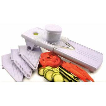 Mandolina Cortadora 4 Cortes Completa accesorios de cocina