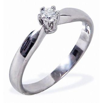 827b4d9ce426 Anillo De Compromiso Solitario Diamond Desing Diamante Natural 20 Puntos  Con Montadura De Oro Blanco De