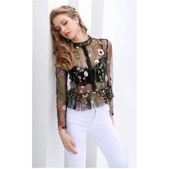 a9b7c5e13 Compra Blusa Transparente Color Negro online | Linio Chile