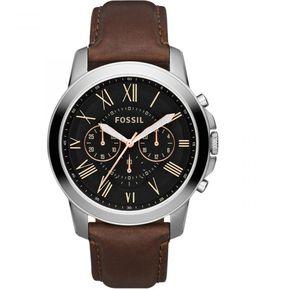 e5003af4feb2 Reloj Fossil Grant FS4813IE Para Caballero - Marrón