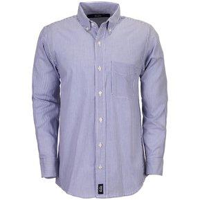 Camisa Manga Larga Milan Hombre Uniforme Empresarial Ejecutivo Oficina  Color-Azul Marino c5f6a7c8929b0