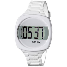 66ae8d93840a Reloj Digital Nixon The Dash - Blanco (sin bateria)