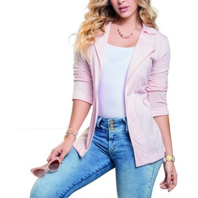 16f1450958c90 Chaqueta Adulto Marketing Personal Para Mujer -Rosado