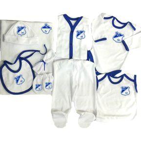 Set Primera Muda Futbol Millonarios Para Bebe Baby Monster 499d5f0204d6