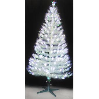 dbaf05360a Compra Arbol De Navidad 150cm Fibra Optica Led Blanco online | Linio ...