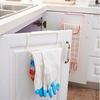 Baño Cocina Multifuncional Toallero Colgante De Puerta De Plástico Soporte Para  Rack e236d5a6451e