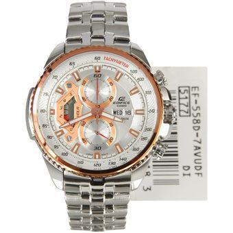 8d7ced02d35d Compra Reloj Hombre Casio Edifice Ef-558d Blanco  Cobre online ...