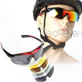 2e7a72039f Lentes Sport Deportivos Ciclismo Polarizado 4 En 1