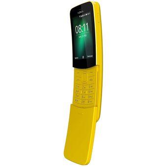 Nokia 8110 Característica 4G 512MB RAM 4GB ROM Amarilla