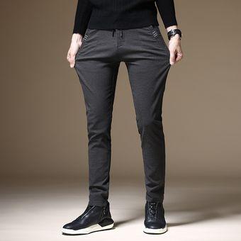 Pantalones De Primavera Pantalones De Vestir Para Hombre Pantalones De Negocios Pantalones Sociales Informales Para Oficina Pantalones Clasicos Para Hombre Jun Gray Linio Colombia Ge063fa0jgk6flco