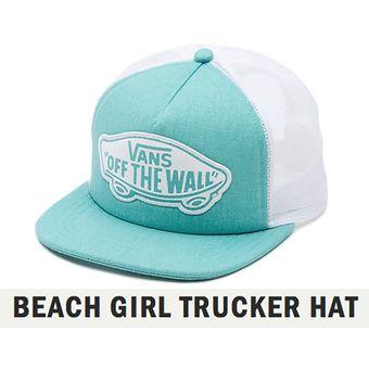 Compra Gorra Vans Original Beach Girl Trucker Hat online  d23c2031357