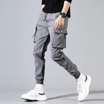 Pantalones De Sudor De Hip Hop Pantalones De Estilo Japones Bordado Linio Peru Un055fa175iaplpe