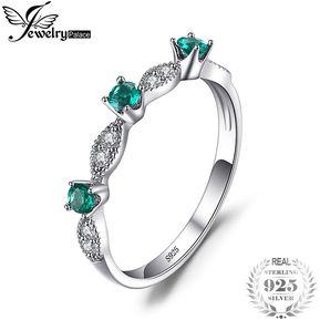d775e3c05b1b Anillo Jewelrypalace Fashion Creado Nano Ruso Esmeralda 925 Plata Esterlina