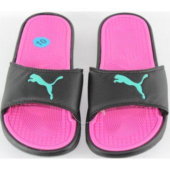 20b11293f Más Sandalias Mujer de Puma. Se el primero en escribir una reseña. Agotado Sandalia  Para Dama Marca Puma Mod1 Color Negro rosa