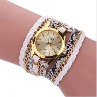 762bd35bd794 Compra Reloj Análogo pulsera Para Dama Mujer de Cuero - Blanco ...