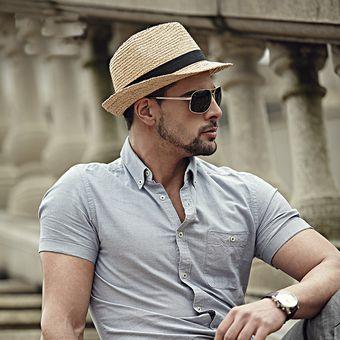 Compra Sombrero Fedora Tipo Gardel Playa Sol Talla Única Blanco ... 34a52ed2617