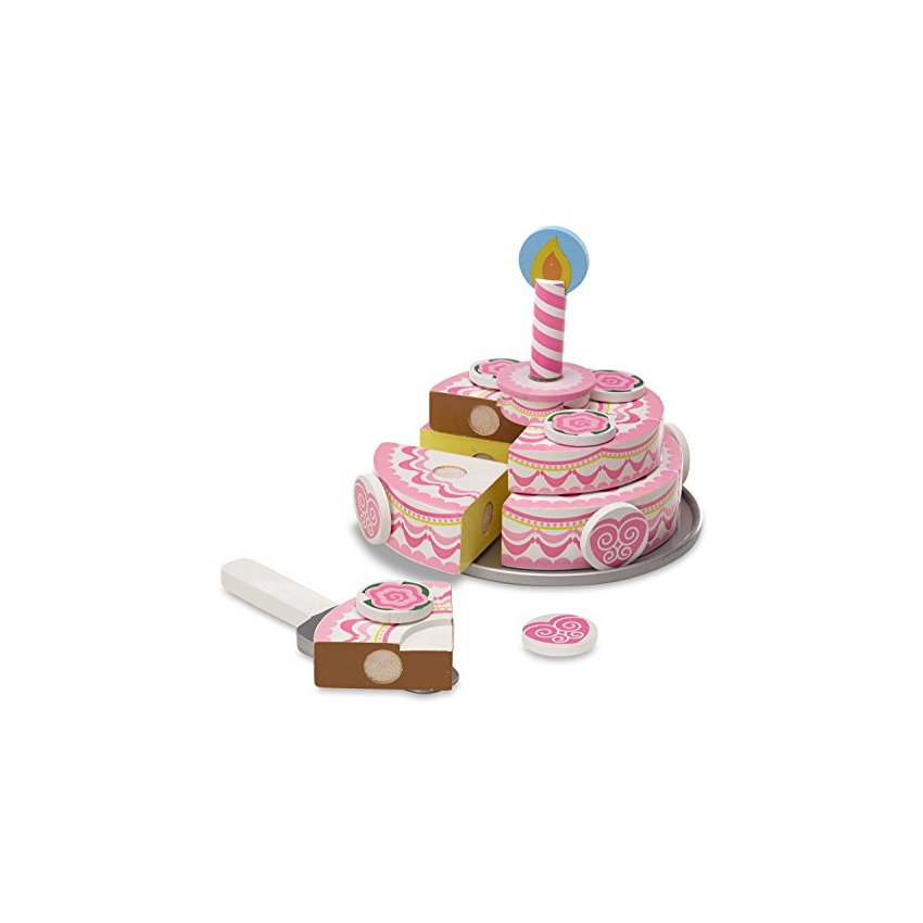 Melissa  doug triple layer party cake juego de comida de ma ME021TB0JF8JPLMX U03guEOz U03guEOz RsZf8phS