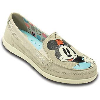 Zapatos grises Crocs para mujer Con la venta de Mastercard