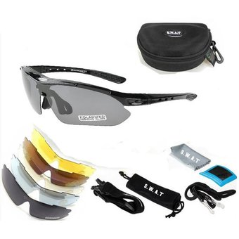 Lentes De Sol S.W.A.T Gafas De Sol UV Ciclismo Bicicleta Outdoor 5 Lentes 02418754f2b8