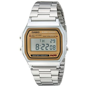 b327ab0fe12c Compra Casio - Reloj Analogico Para Hombre 158WB - Plateado   Oro ...