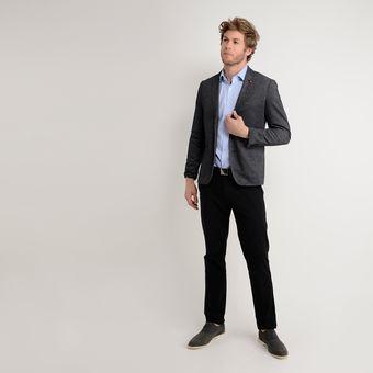 comprar baratas mejores zapatillas de deporte precio loco Camisa de Vestir Basement para Hombre -Azul Claro