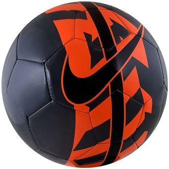 Compra Balón Fútbol Nike React-Negro Naranja online  657c84b8a5c47