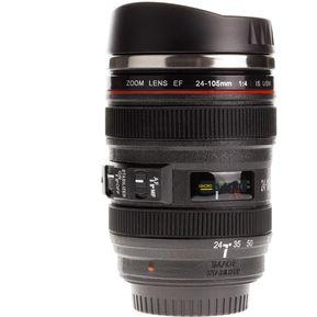 986e5de441e51 Termo Lente Camara Canon Caniam Negro 24-105 Boquilla - Negro