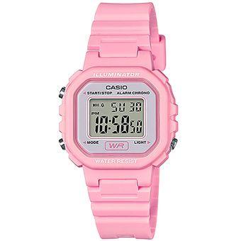 27659150b2a3 Agotado Reloj CASIO LA-20WH-4A1CF Classic Collection Digital  Multifunción-Rosa
