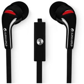 046151ffe63 Audífonos Con Micrófono Topo Silicona Negro Eb-610 - Esenses