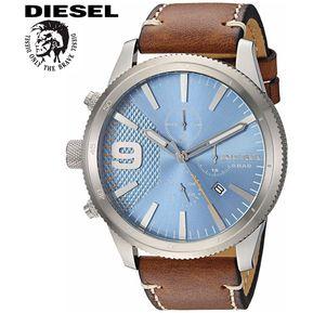 4aa0d2261502 Reloj Diesel Rasp DZ4443 Acero Inoxidable Correa De Cuero - Marrón