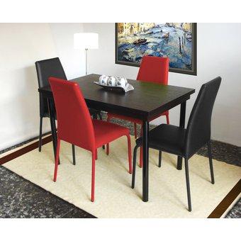 Compra comedor rub 4 puestos caf muebles fantas a online for Muebles atlantico norte