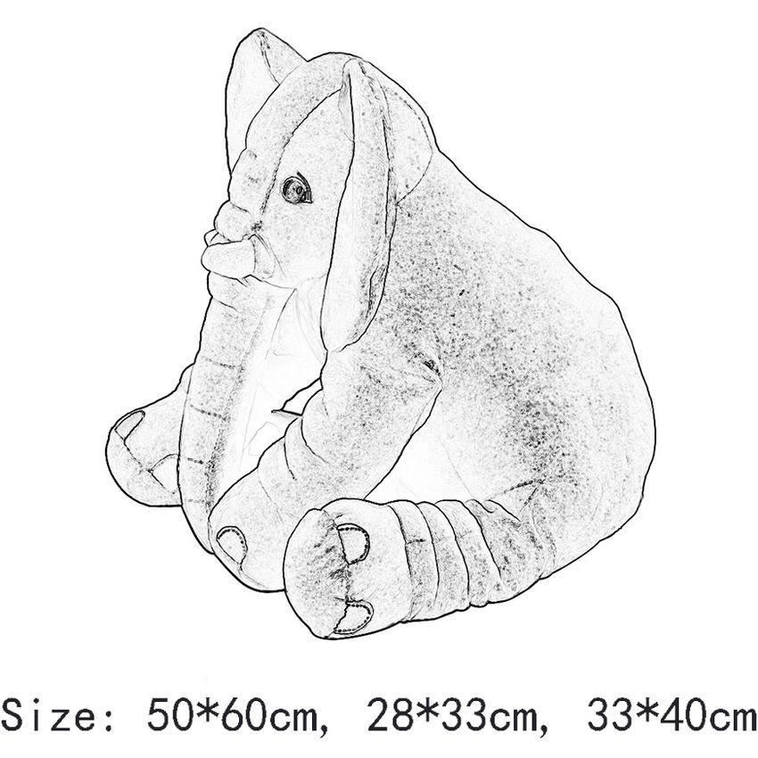 1 PC Elefante De La Muñeca Almohada Suave Peluche Juguetes De EW Peluche -- Gris GE032HL12XKJALMX lhRKFvpM lhRKFvpM Oh5PmCYG