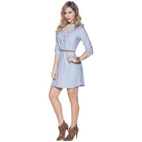 f1cae98fa Vestido Adulto Marketing Personal Para Mujer Azul Claro