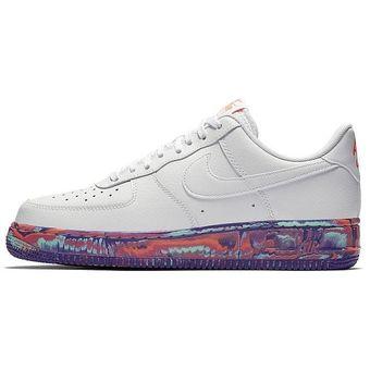 7cc4d20d440 Agotado Zapatos Deportivos Hombre Nike Air Force 1  07 Lv8 Lthr-Blanco