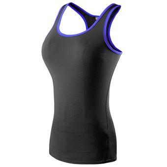 801ad243103f1 Compra Las Mujeres De Compresión Chaleco De Correr De Fitness ...