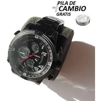 Venta caliente genuino Buenos precios amplia selección de colores y diseños Reloj JOEFOX Hombre Doble Hora 1702G + pila gratis