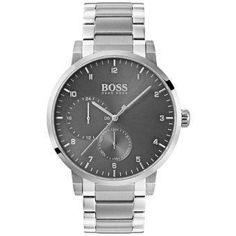 59bc6d41f70c Compra Reloj Hugo Boss Oxygen 1513596 Para Caballero-Plateado online ...