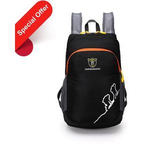 Nylon Impermeable Bolsas plegables Mochila portátil Ultraligero y práctico  para la escuela de viajes al aire f28a7b5da64b
