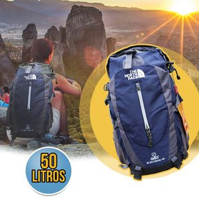 5923c7bb8 Morral 50 Litros Maletin The North Face Mochila Impermeable Camping Azul RF  216