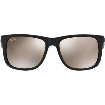 Sol Ban Gafas Hombre Negro Justin De Para Ray 0rb4165 354cRqAjL