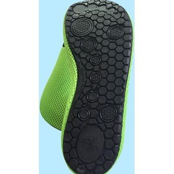 93e029e8a234 Sandalias De Malla Transpirable / Calzado Para El Ejercicio De Yoga O  Natación De La Playa - Verde Size L