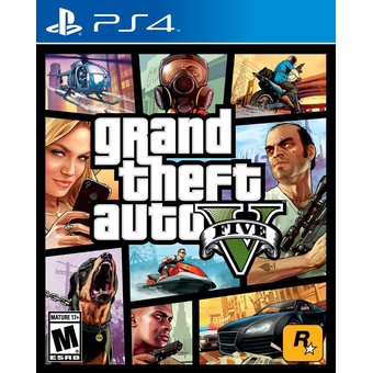 Juego Grand Theft Auto 5 GTA 5 Ps4 Español Nuevo Sellado