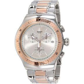 8f1bb2cd02a2 Reloj Swatch So Biggar YOS452G Para Caballero-Plateado