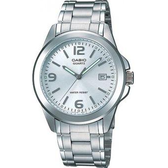 Reloj Casio MTP 1215A 7A De Hombre Plateado